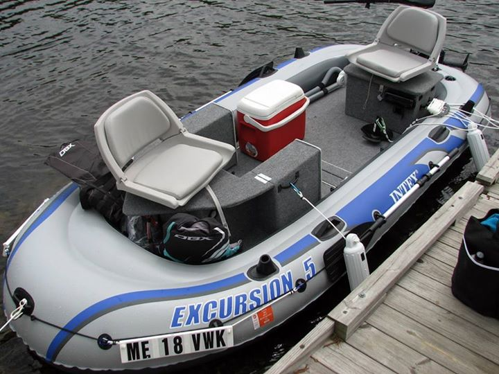 Custom/Modular) Intex Excursion 5 Inflatable Boat